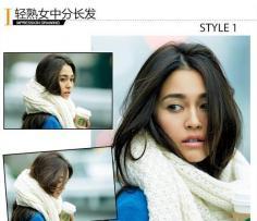 3款发型绝搭冬装 温暖型格女美爆街头