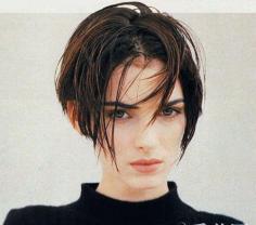 欧美女生复古个性短发 兼具性感帅气