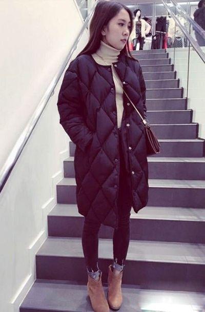 高领毛衣搭配 让你温暖过冬