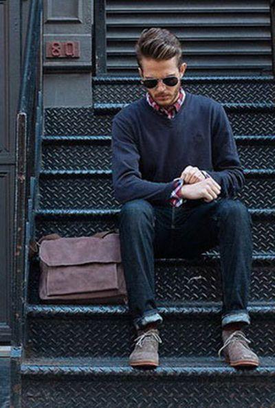 男士毛衣搭配 展现你的魅力