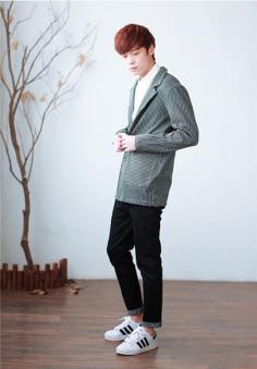 男生小清新服装搭配 展示低调文艺范儿