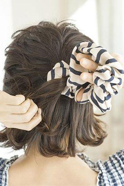 短发半扎发怎么扎 教你短发半扎发教程