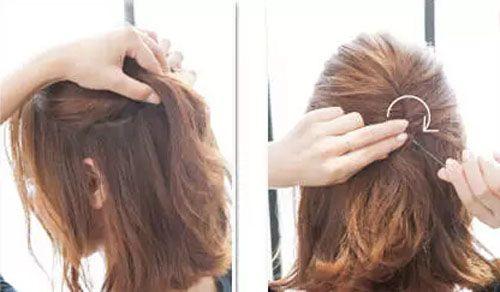 波波头短发怎么扎好看 可爱俏皮又不失甜美