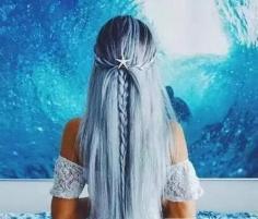 梦幻人鱼发色图片 超级撩汉的时尚发色