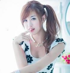 棕栗色染发效果图 年轻女性钟爱的一种发色