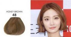摩卡色头发颜色图片 最适合亚洲女性的发色