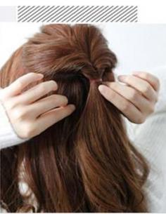 长卷发怎么扎好看 教你浪漫唯美半扎发