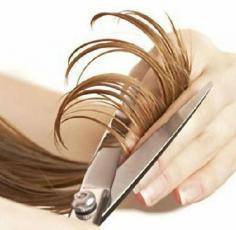 头发分叉护理小窍门 帮你解决头发严重分叉