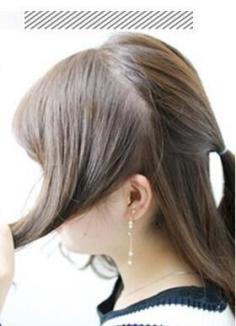 中长发半扎发怎么扎好看 简单几步打造气质女神