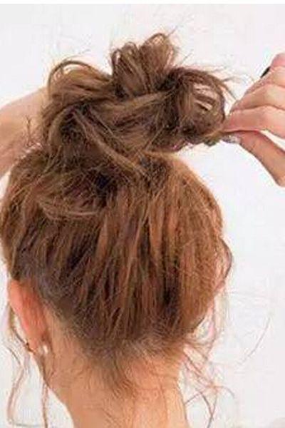 齐肩短发怎么扎花苞头 教你轻松打造好看的花苞头