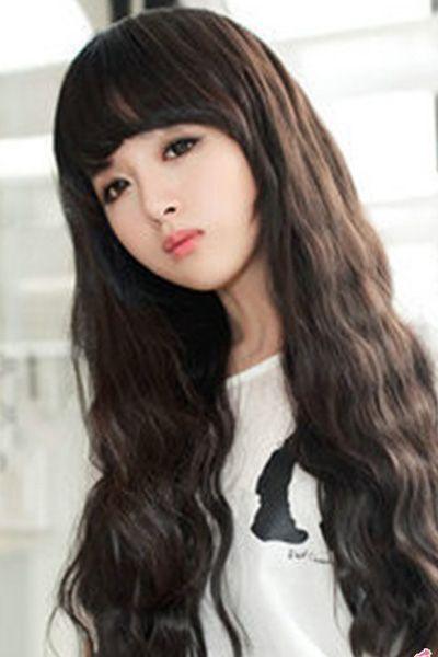 可爱刘海发型图片 让你随时随地美感十足
