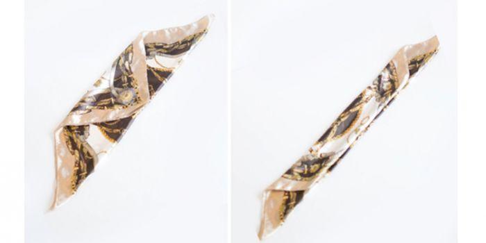 如何用丝巾扎头发 轻松打造时尚马尾辫