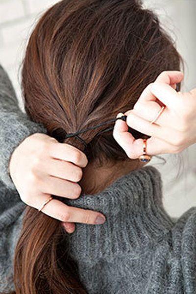 韩式蓬松花苞头图解 轻松变成时尚达人