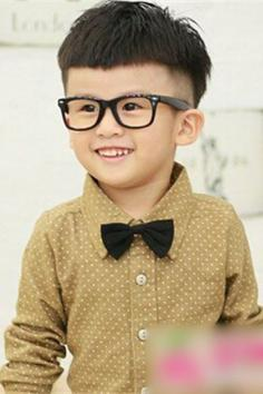最新流行的小男孩发型 打造纯情小男神