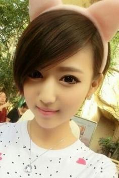 淑女刘海发型图片 做个气质女神