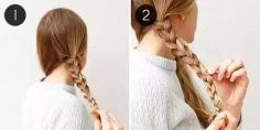 三股辫盘发发型步骤 轻松打造优雅发型