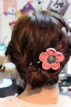 韩式麻花辫盘发 简单几步教你如何盘发