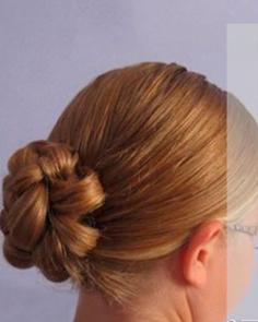四股麻花辫盘发怎么盘 简单5步完成可爱发型