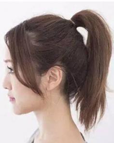 中长发怎么扎花苞头 让你更显青春活力