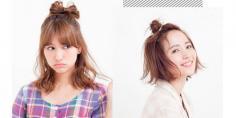 适合女生的可爱发型 2款扎发让你甜美俏皮