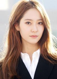 韩国女演员郑秀晶的发型 跟女神学韩国女生发型