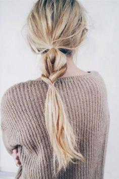 马尾辫的各种扎发图片 让你清爽整个夏季