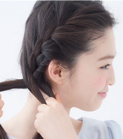 教你头发怎么扎好看 美腻发型就这么简单