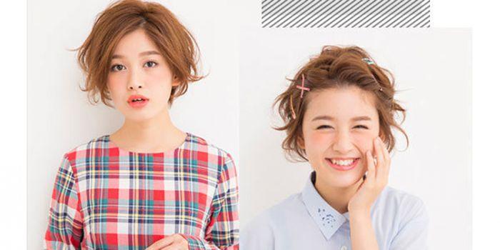 小清新唯美短发怎么扎 3款早春甜美发型轻松学