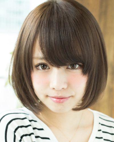 圆脸适合什么样的短发 圆脸妹子的短发都在这