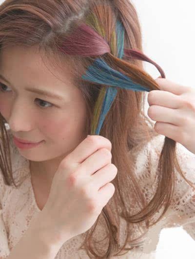 无刘海编发发型 打造清爽甜美气质