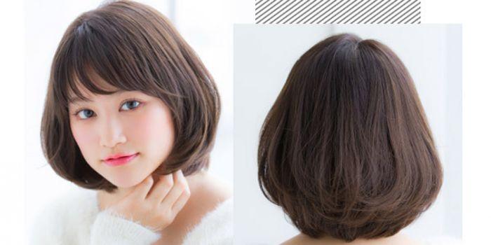 日系甜美范短发造型 俏皮可爱短发让人眼前一亮
