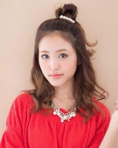 刘海太长怎么弄好看 甜美扎发搞定长刘海