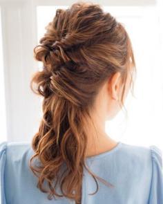 韩式公主头发型扎法 扭转辫子层次感十足