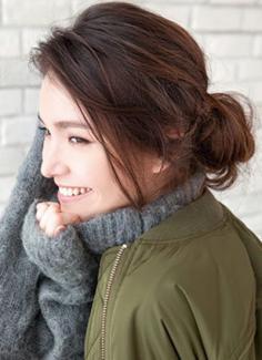 韩式花苞头发型扎法步骤 自然有范时髦吸睛