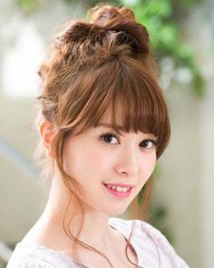 日系女生盘发发型步骤 三款盘发为不同场合设计