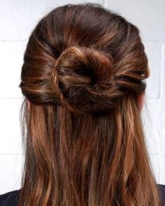 丸子头发型diy 给丸子头加点创意更特别
