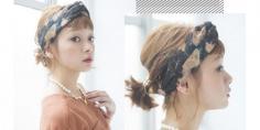 齐刘海怎么扎漂亮发型 2款扎发甜美可爱