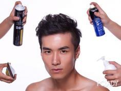 日韩流行男生发型的制作要点