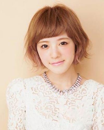 女生波波头发型 清爽减龄修饰脸型