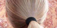 小女孩盘发发型扎法 古典而美丽