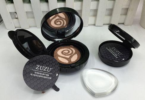 zuzu硅胶气垫真假对比图 zuzu硅胶气垫使用方法