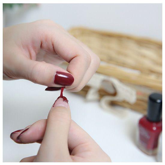 撕拉指甲油容易掉落怎么办 教你五个技巧