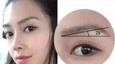 什么是微胖眉 微胖眉怎么画好看