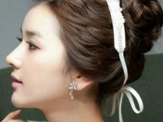 新颖韩式新娘发型 彰显迷人魅力