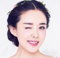 韩式新娘编发盘发发型 甜美梦幻女神范儿