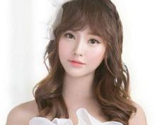 韩式婚纱照新娘发型 定格最美时刻