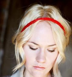 一根绳子或一条蕾丝 打造浪漫法式盘发