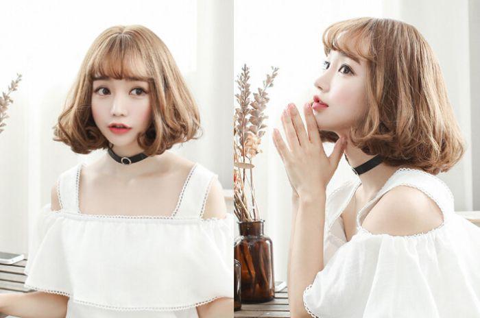 短发控必备:2017女生短卷发发型流行趋势