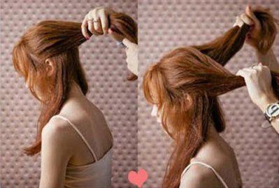 心形韩式编发超有爱,简单时髦人人爱