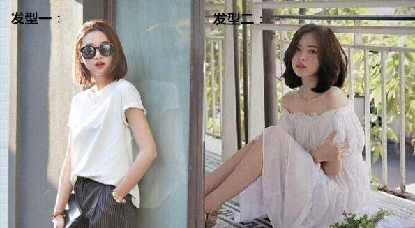 2017年夏季韩国女生短发发型图片鉴赏